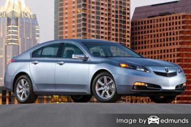 Insurance quote for Acura TL in Oklahoma City