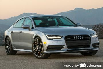 Insurance quote for Audi A7 in Oklahoma City