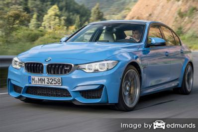Insurance quote for BMW M3 in Oklahoma City