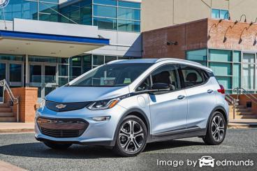 Insurance rates Chevy Bolt EV in Oklahoma City