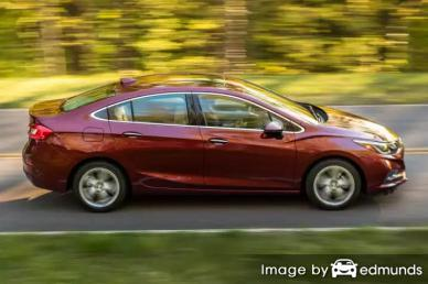 Insurance rates Chevy Cruze in Oklahoma City