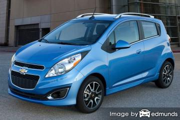 Insurance quote for Chevy Spark in Oklahoma City