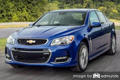 Insurance rates Chevy SS in Oklahoma City