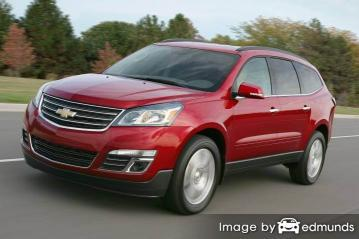 Insurance rates Chevy Traverse in Oklahoma City