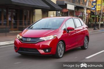 Discount Honda Fit insurance