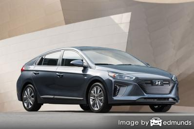 Insurance rates Hyundai Ioniq in Oklahoma City