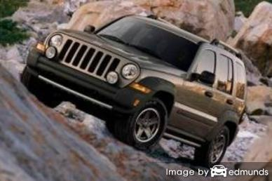 Insurance quote for Jeep Liberty in Oklahoma City