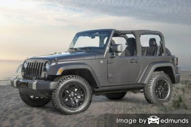 Insurance quote for Jeep Wrangler in Oklahoma City