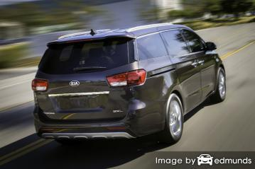 Insurance quote for Kia Sedona in Oklahoma City