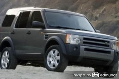 Insurance quote for Land Rover LR3 in Oklahoma City