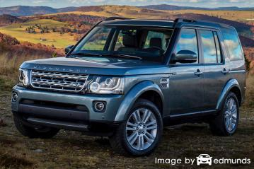 Insurance quote for Land Rover LR4 in Oklahoma City