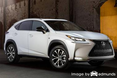 Insurance quote for Lexus NX 200t in Oklahoma City