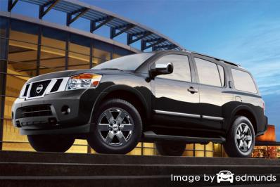 Insurance rates Nissan Armada in Oklahoma City