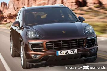 Insurance rates Porsche Cayenne in Oklahoma City
