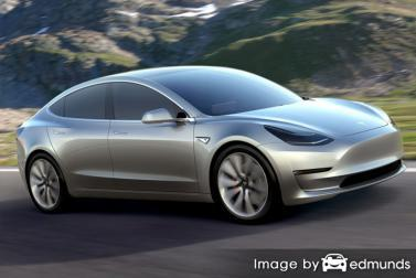 Insurance rates Tesla Model 3 in Oklahoma City