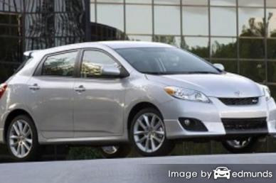 Insurance for Toyota Matrix