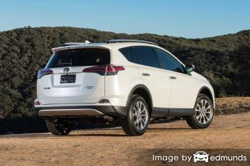 Insurance rates Toyota Rav4 in Oklahoma City